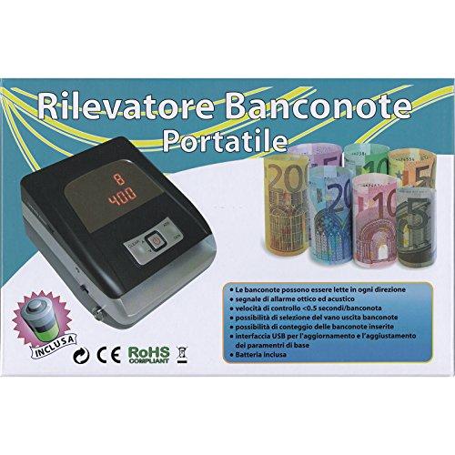 Rilevatore Banconote False Portatile Verifica EURO...