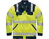 Dickies IN Hi-Vis Bundjacke warnfarbe, XL, gelb, SA30015
