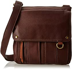 Fossil Morgan Womens Handbag (Dark Brown) (ZB4798206)