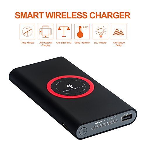Power Bank wireless LinDon-Tech 8000mAh
