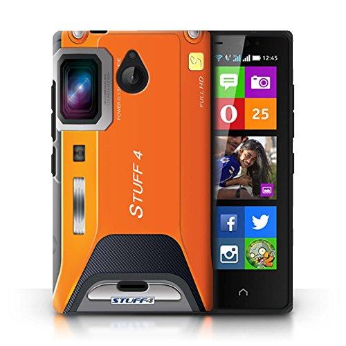 Kobalt® Imprimé Etui / Coque pour Nokia X2 Dual Sim / Sportif conception / Série Appareil Photo Sportif