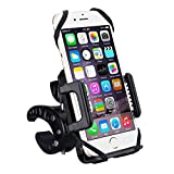 VicTsing Bike Mount Bicycle Holder, Universal Adjustable Mountain Rotating Bicycle Mount Bike Handlebar Cell Phone Holder Cradle Clamp for iPhone 6s 6 5s 5c 5 and Other Smartphones, GPS Devices
