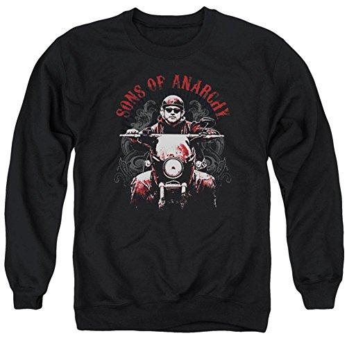 Sons of Anarchy Herren Sweatshirt Ride On Schwarz - Schwarz - Mittel Anarchy Sweatshirt