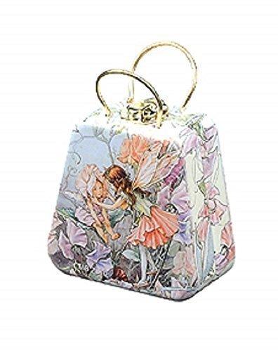 Flower Fairy Miniatur Dose, Duft Sweet Pea, mit Handtasche