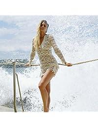 14bfc1ced Amazon.es  vestidos blanco playa  Ropa