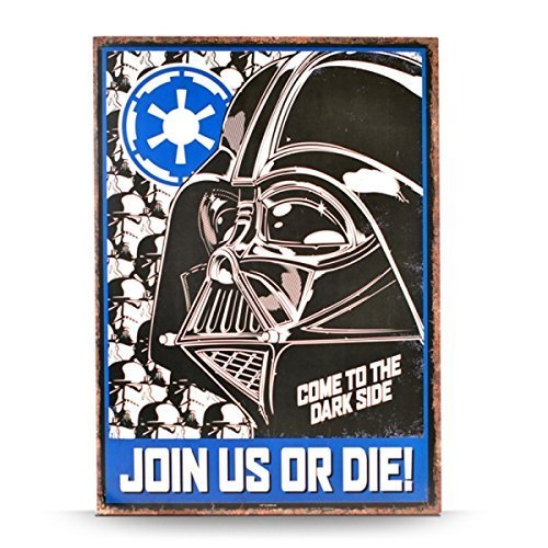 Tin Sign Large Star Wars Empire