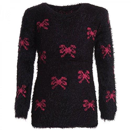 BEZLIT -  Felpa con cappuccio  - Camicia - A righe - Maniche lunghe  - ragazza nero 6 anni