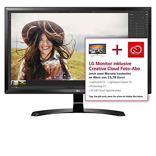 LG IT Products 27UD58-B 68,58 cm (27 Zoll) LED-Monitor (Ultra HD 4K IPS, 250 cd/m²)