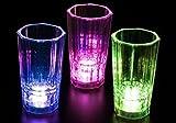 HOTcraze - Juego de vasos de chupito con luz LED (12 unidades, 56 ml)