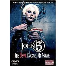 John 5 - The Devil Knows My Name - Guitar - DVD