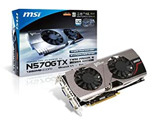 MSI V257-014R NVIDIA N570GTX Twin Frozr III Power Edition Grafikkarte (PCI-e, 1280MB GDDR5 Speicher, HDMI, 1 GPU)