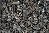Holzgranulat 5-20mm 1 Liter. Schwarz ANTHRAZIT