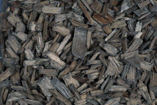 ORANGE Dekoholz 5-20 mm Holzschnitzel HOLZ GRANULAT 1 L Holzgranulat