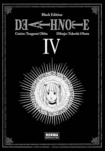 Death note black edition 4 (CÓMIC MANGA) por Takeshi Obata Tsugumi Ohba