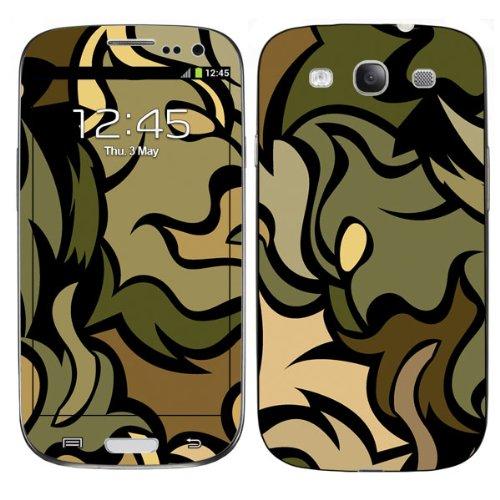Diabloskinz H0026-0004-0011 Army Monkey Schutzhülle für Apple iPhone 4/4S