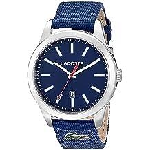 Lacoste Hombre Reloj de pulsera analógico cuarzo textil 2010779