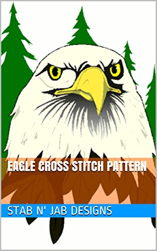 Eagle Cross Stitch Pattern (English Edition)