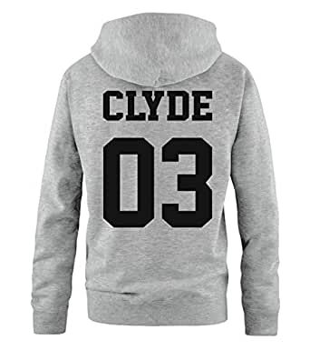 Comedy Shirts Pärchen-Hoodie Bonnie and Clyde