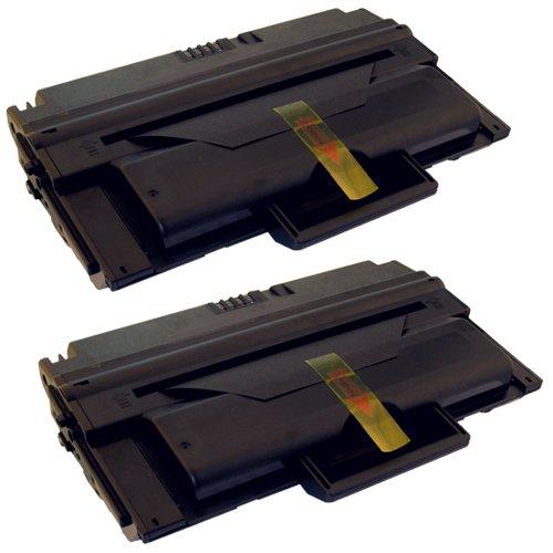 Preisvergleich Produktbild 2x Toner-Kartusche XL Schwarz ersetzt Dell 2335 2335DN 2355DN 593-10329 HX756 PlatinumSerie