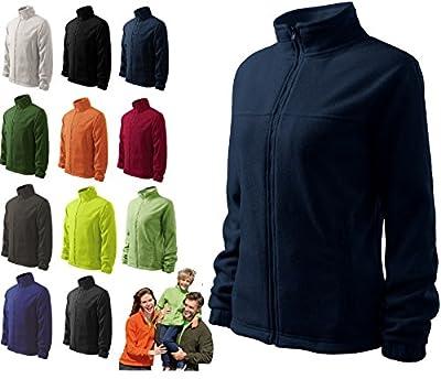 Damen Fleece Jacket Hochwertige Fleecejacke Anti-Pilling