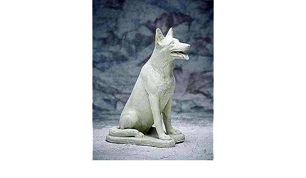 Steinhund H 72 Steinfigur Gartenfigur Schäferhund