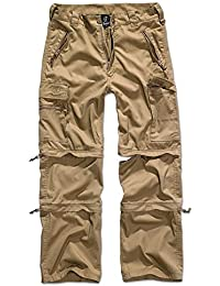 Brandit Herren Outdoor Hose Zip Off Shorts 3er Kombi