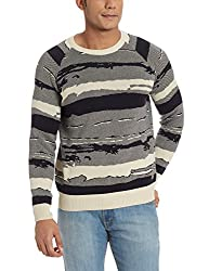 Wrangler Mens Cotton Sweater (8907222669300_W15128719130_X-Large_Beige)