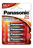 Panasonic Pro Power Alkali-Batterie (Mignon AA, LR6, 4er Pack)