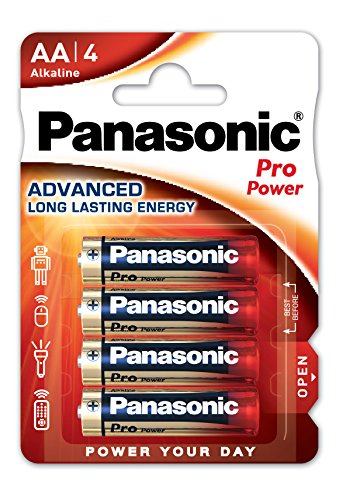 Panasonic Pro Power Alkali-Batterie (Mignon AA, LR6, 4er Pack)