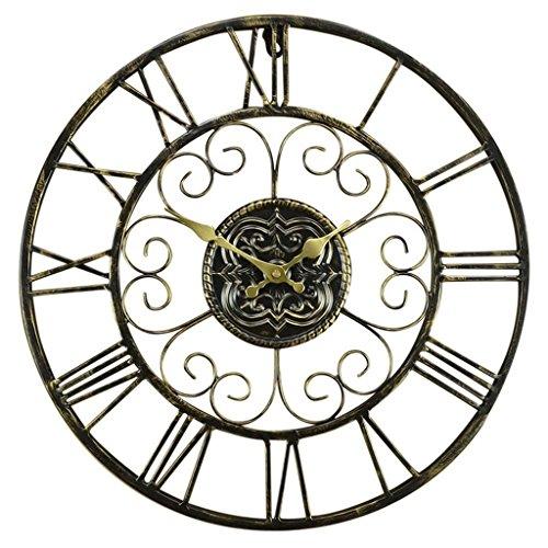 Continental Ferro nostalgia retrò soggiorno orologio da parete muto tasca antico orologio Inghilterra Clock romano