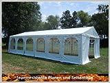 Pavillon Pavillion Festzelt Partyzelt Giant Pro PVC FR 6x12m 12x6m 6x12 12x6 mit Fenster