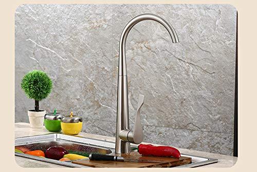 Moderne minimalistische Küchenarmaturen Wasserhahn Küche Wasserhahn Küche mit Schlauch Single Küchenarmatur europäischen Stil Mixer