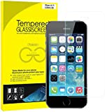 JETech iPhone SE 5S 5C 5 Tempered Glass Screen Protector Retail Packaging