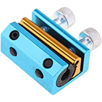 MagiDeal Cable Doble Luber Abrazadera Lubricador de Engrasador Vehículos - Azul