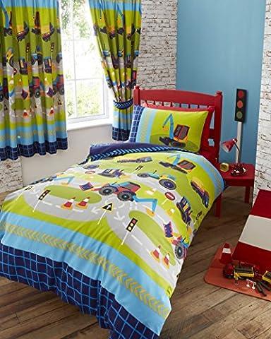Childrens boys girls single bed duvet set