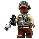 Lego Star Wars Rogue One Rebel Trooper Minifigure (dark skin) by LEGO
