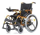 Elektrorollstuhl Elektrischer Rollstuhl E-Rollstuhl Faltbar mit Selbstantrieb hoher Komfort E-Tiger
