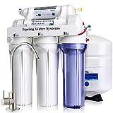 iSpring 75GPD sistema di filtraggio acqua a osmosi inversa a 5 stadi, modello RCC7