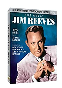 The Great Jim Reeves 8CD Set: Amazon.co.uk: Music