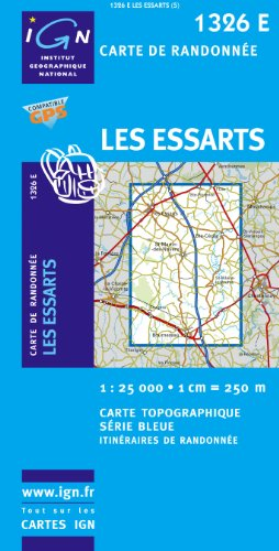 Les Essarts GPS: IGN1326E par (Carte - Sep 5, 2008)