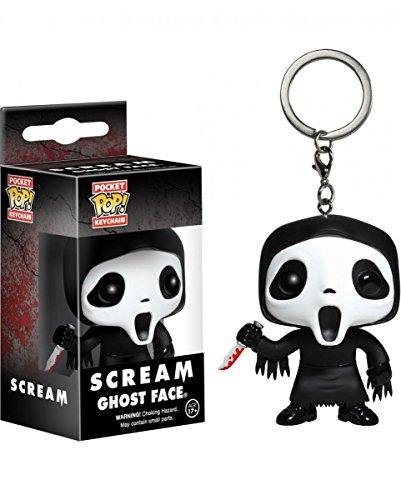 hlüssel-Anhänger Pocket POP (Halloween Ghost Face)