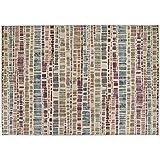 Alfombra Sitap estilo moderno diseño de abstracto multicolor disponible en 5 tamaños Laguna 63341 – 9161