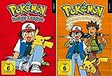 Pokémon Staffel 1+2 / DVD Box Set / Pokemon / Indigo Liga + Adventures in the Orange Islands / 13 DVDs