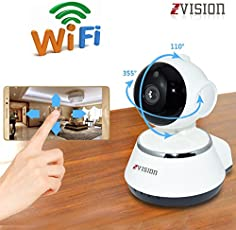 ZVision HD 1.3MP Wireless IP Network CCTV Camera WiFi P2P Security Surveillance Camera Night Vision IR Baby Monitor Motion Detection Alarm