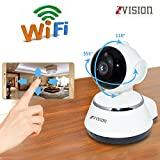 ZVision HD 1.3MP Wireless IP Network CCTV Camera WiFi P2P Security Surveillance Camera