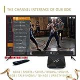 2018 IPTV Android World Box avec Plus de 1500 chaînes mondiales en Direct, abonnement Gratuit à Vie, y Compris Les chaînes Nord-européennes européennes asiatiques Arabes du Sud, Films, séries télé...