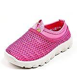 Kinder Sandalen Geschlossen Sommer Outdoor Baby Hausschuhe Atmungsaktiv Strand Garten Schuhe Mädchen Jungen Pink Gr 25