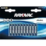 RAYOVAC 04003944410Piles alcalines AAA LR03