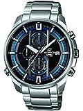 Casio Herren-Armbanduhr XL Edifice Analog Quarz Edelstahl EFR-533D-1AVUEF