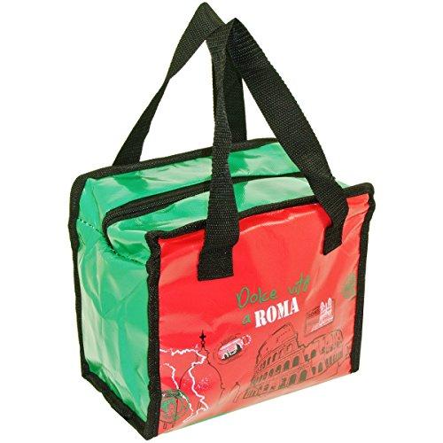 Promobo - Lunch Bag Sac Panier Repas Fraicheur Isotherme City Dolce Vita à Rome